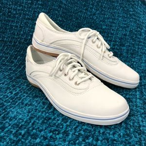 Keds white leather size 7.5